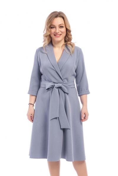 Платье с поясом, П-535